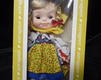Effanbee Swiss Yodeler Girl doll vintage