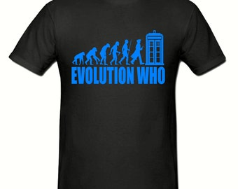Evolution Who t shirt,men's t shirt sizes small- 2xl,fathers day gift,dad gift