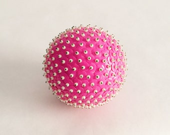 The Luxe Ball - Handcrafted Sequined & Beaded Decorative Ornament