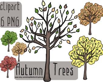 Fall garden clipart – Etsy