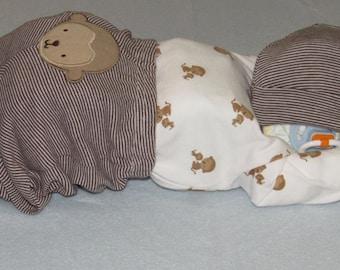 Sleeping Diaper Baby, diaper cake, diaper baby, baby shower gift, diaper baby cake, baby gift