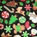 Christmas Cookie Toss Fabric Timeless Treasures CM1285  / 1/2 Yard and 1 Yard Cuts / Christmas Fabric / Cotton Fabric