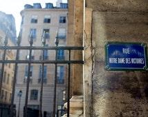 Paris Architecture, Paris Street Sign, Paris Buildings, Paris Photography, Paris Print, Travel, Fine Art Print, Wall Decor, Wall Art