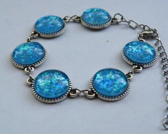 Opal Effect Bracelet
