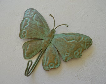 french antique butterfly wall hanger,