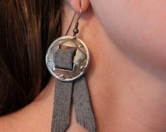 Vintage western earrings