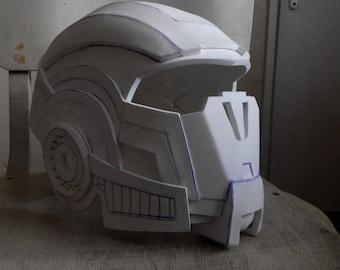 Unpainted Mass Effect N7 Breather Helmet