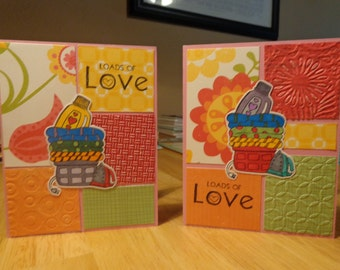 Two loads of love cards