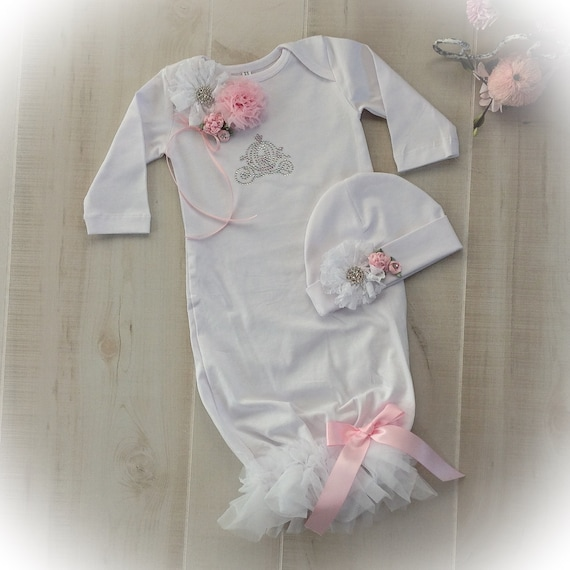 Newborn Girl Take Home Princess Outfit Newborn Girl Coming