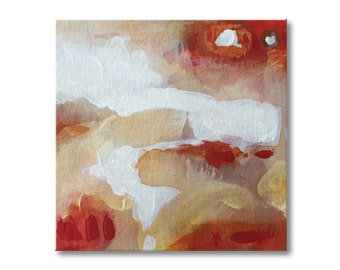 Red painting Abstract painting Contemporary Art Abstract wall art Acrylic painting Modern Art Landscape painting Original art painting