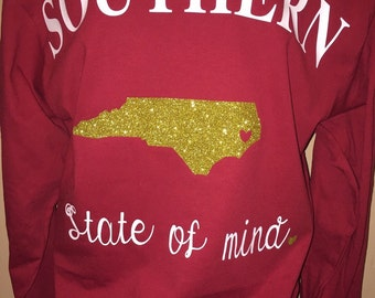 Southern State of Mind Long Sleeve Tee