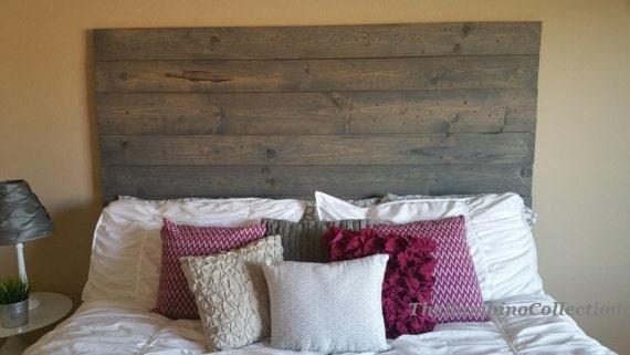 Custom Made Rustic Wood Plank Headboard Twin Double Queen