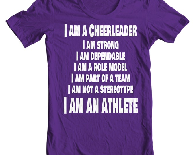 Cheer Life - I Am A Cheerleader Girls T-Shirt