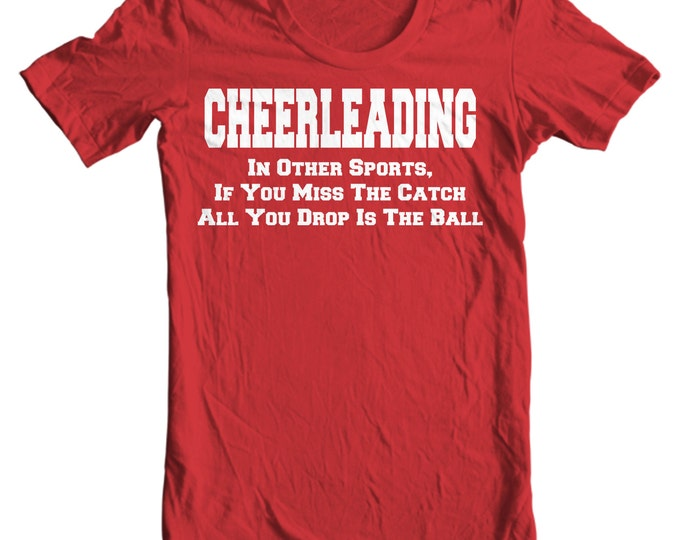 Cheer Life - Cheerleading Drop The Ball Kids T-Shirt