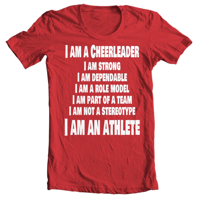 Cheer Life - I Am A Cheerleader Girls T-Shirt