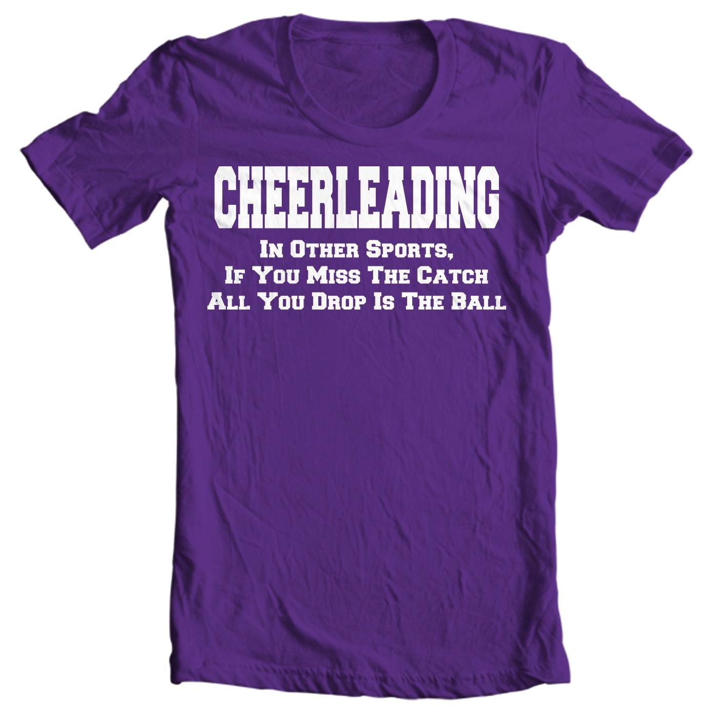 Cheer Life - Cheerleading Drop The Ball Womens T-Shirt