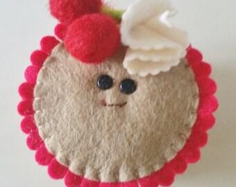 Cherry Pie, pies with eyes