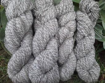 Handspun jacob wool yarn