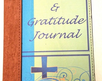 Prayer and Gratitude Refillable Leather Journal