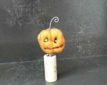Needle Felted: Halloween Henry