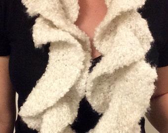Sprial Knit Scarf
