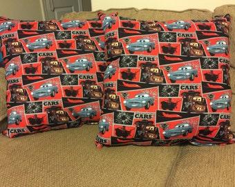 Cars 2 throw pillows
