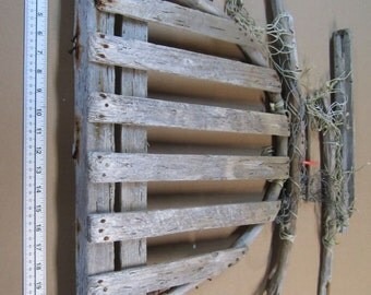 Driftwood Beach Decor, Lobster Trap, Home Decor, Nautical Decor