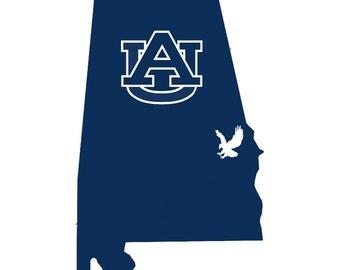 Auburn Decal