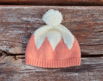 Hat Crown - knitted hand