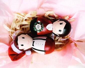 Custom Family Ornament Set