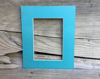 Unique 8x10 Mat with a 5x7 opening