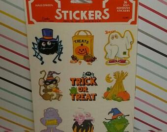 Vintage 1980s Halloween Sticker by Eureka for Hallmark