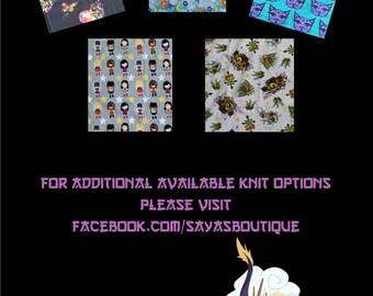 Knit Fabric Options