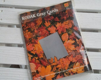 Vintage Kodak Gray Cards, 1983, Set of 2