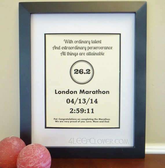 Wedding Gifts For Runners : Gifts for the RunnerGift Ideas for RunnersMarathon Gift ...