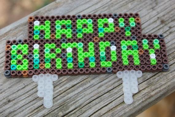 Minecraft Birthday Cake Topper Grass Block by ...