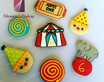 Circus sugar Cookies (15 fifteen)