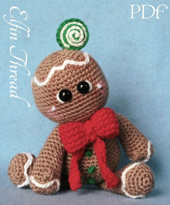 Gingerbread Cookies Dolls Amigurumi PDF