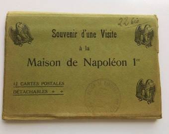 Memory of a visit to the home of Napoleon 1st