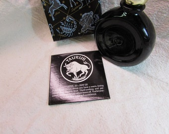 Vintage Avon Star Signs, Taurus, Wild Country After Shave