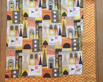 REGISTRY ITEM: King character castle baby blanket