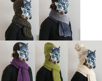 Made on request very hot woolen scarf for winter