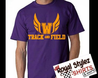 Custom Track & Field Shirt