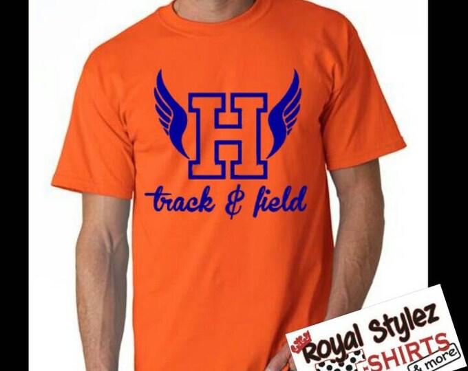 Custom Track & Field Shirt