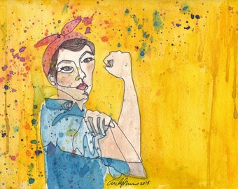 PRINTS Rosie the Riveter