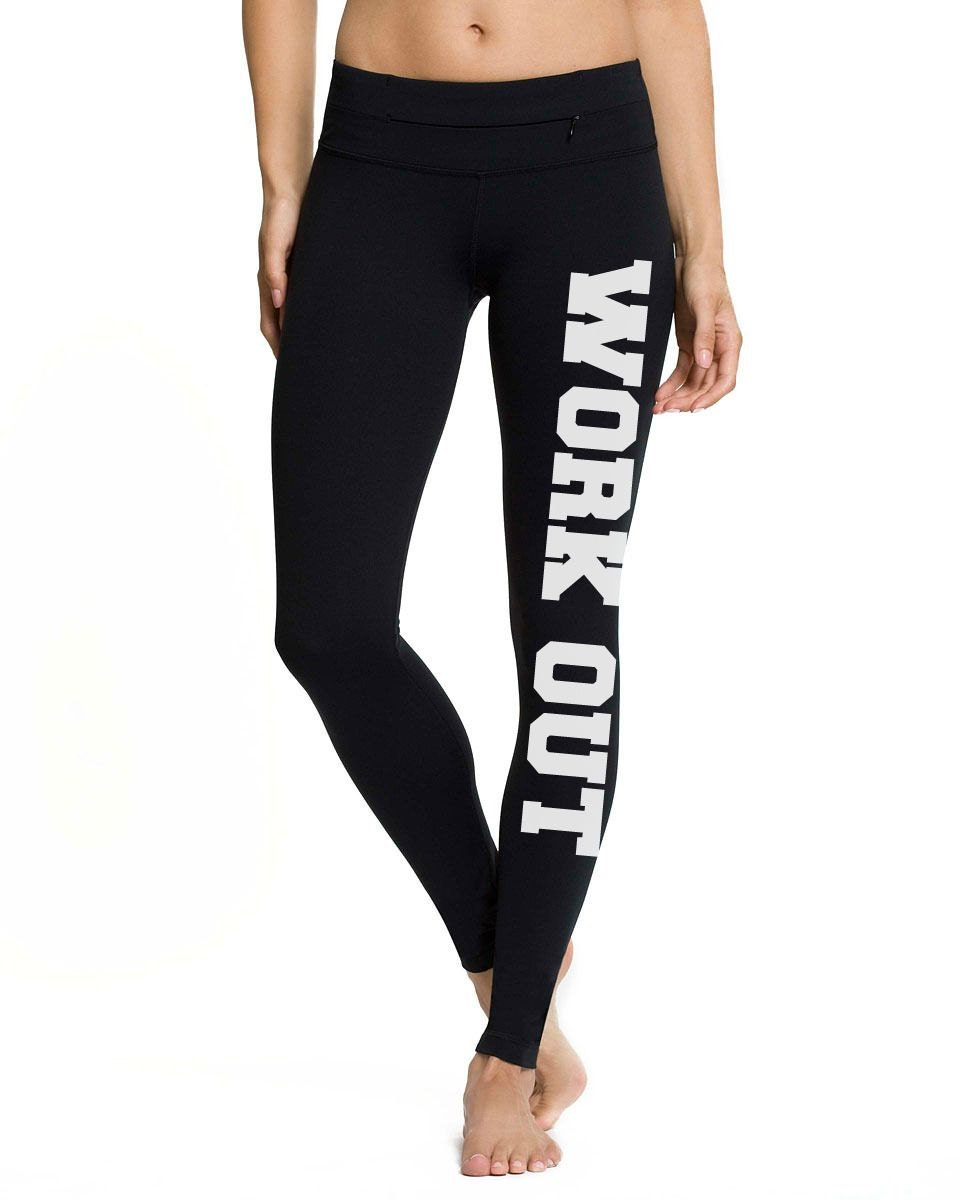 Workout Yoga Pants Work It Out Yoga Pants By FitInkApparel