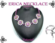 ERICA NECKLACE with PIP beads pattern tutorial