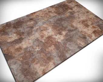 "Wargaming Terrain - ""Badlands"" vinyl Gaming Mat for miniatures and other games"