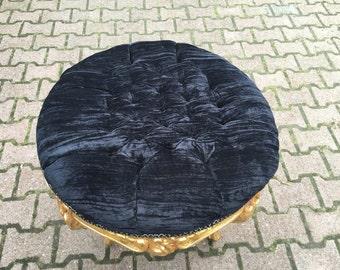 Round bed bench