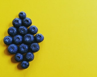 Kitchen decor, food photography, restaurant decor, home decor, fruit photography, blueberry, kitchen photography